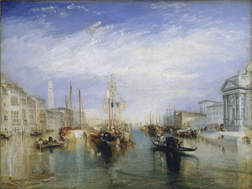 Venice, from the Porch of Madonna della Salute, 1835.jpg