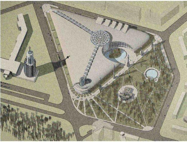 Петербургский змимний сад Бенуа с эксперементальной фермой