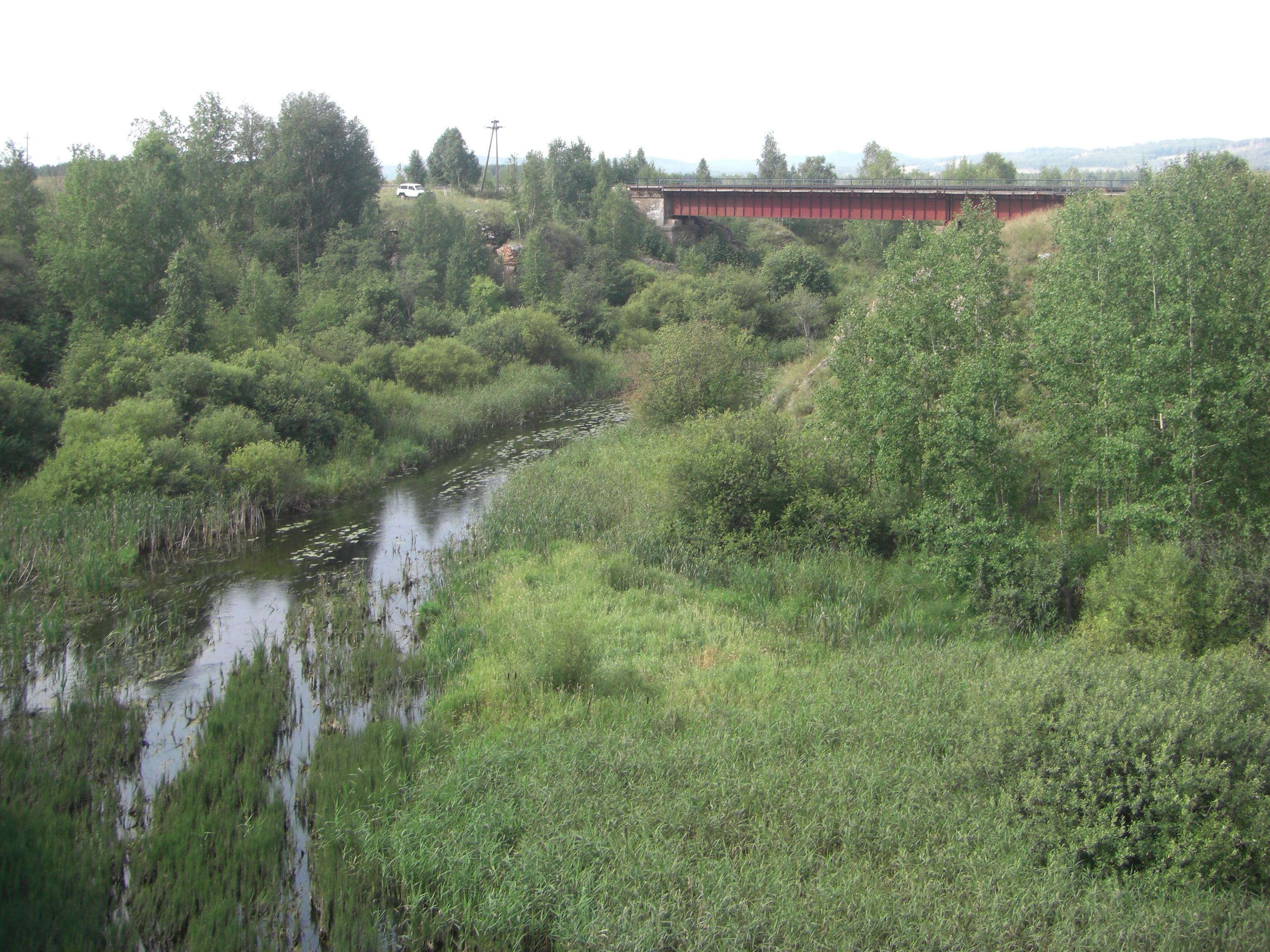 Мост через Миасс (22.08.2014)