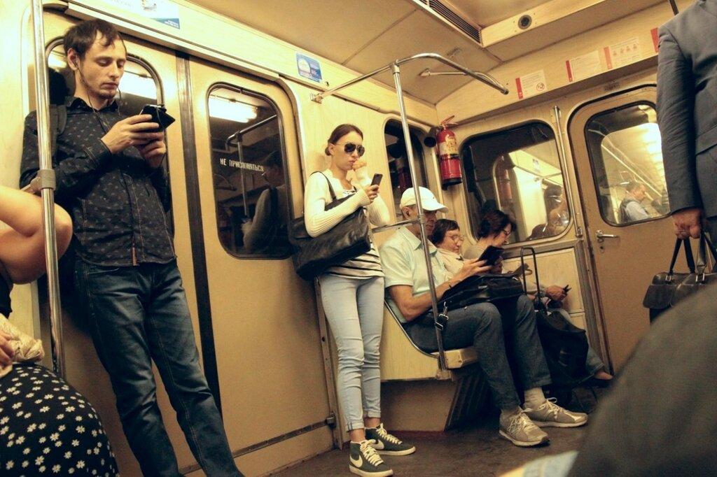 рассказ в метро по принуждению