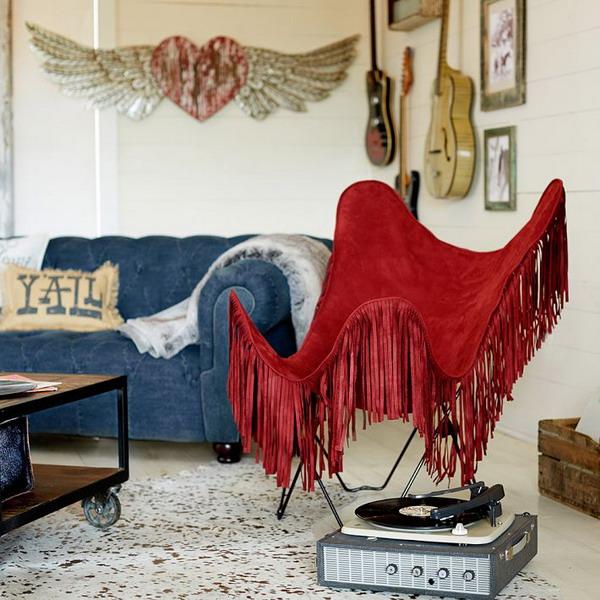 Комната в стиле ВЕСТЕРН - дизайн для юных леди