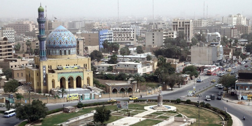 Ещё до вторжения США в Ирак Багдад называли одним из опаснейших мест на планете. За годы войны бомбё