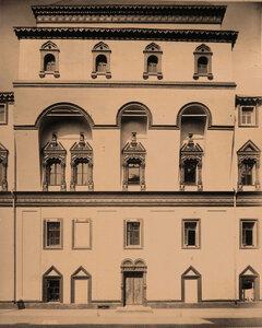 Вид части фасада Потешного дворца в Кремле. Москва г.