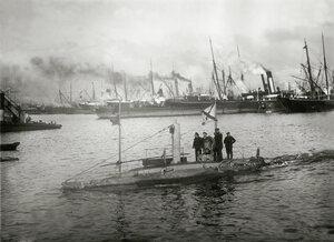 Подводная лодка Дельфин до модернизации, Балтика, 1904 год .