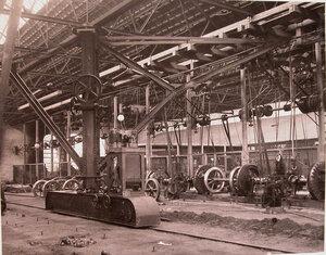 Внутренний вид механической мастерской общества.