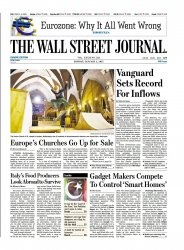 Журнал The Wall Street Journal EU - 5 January 2015