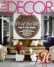 Журнал Книга ELLE Decor № 6 2014 USA