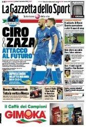 Журнал La Gazzetta dello Sport  (6 Settembre 2014)