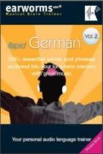Rapid German Volume 2. Earworms Musical Brain Trainer (Audio & Book)