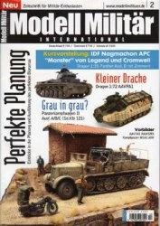 Журнал Modell Militar International №2