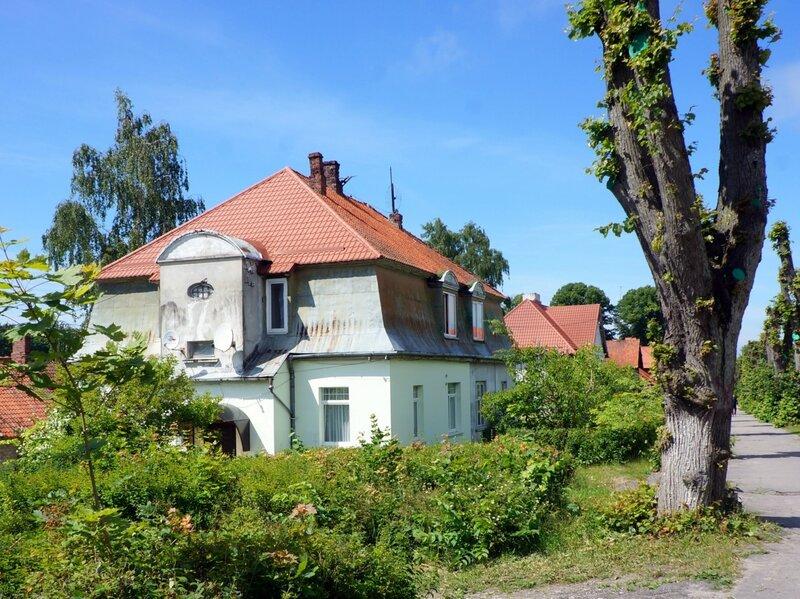 Дом рабочих янтарных карьеров Восточной Пруссии