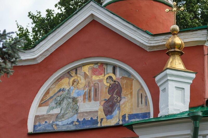Благовещенская церковь, деталь