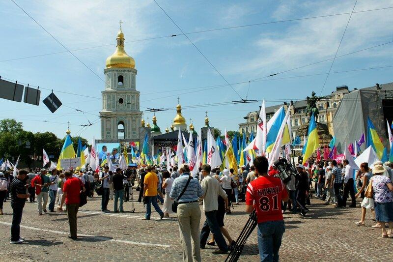 Софиевская площадь 18 мая 2013 года