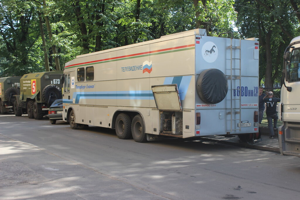 """ПТС """"Магнолия-83А"""" на базе Камаза с кузовом финской компании Ajokki"""