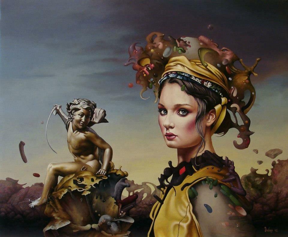 Сербский художник Dragan Ilic (DI VOGO)