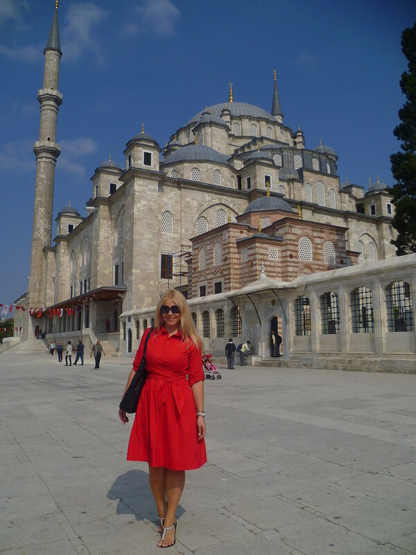 Мечеть Фатиха - Стамбул, Турция (Fatih Mosque - Istanbul, Turkey)