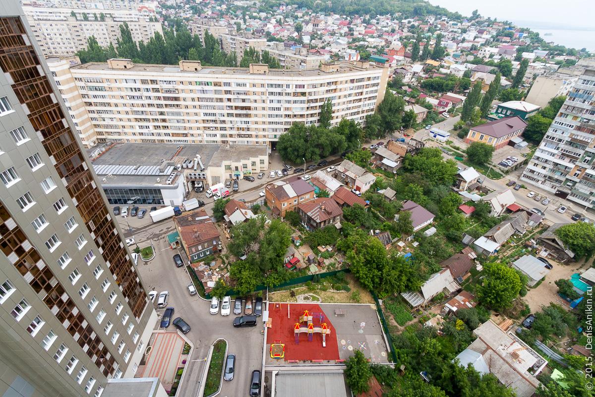 Саратов панорама крыша 4