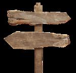 Деревянная табличка