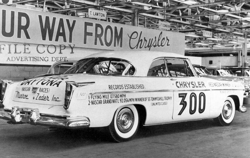 1955-Chrysler-C-300-Daytona-Beach-Flying-Mile-Race-Car-rvr-BW.jpg