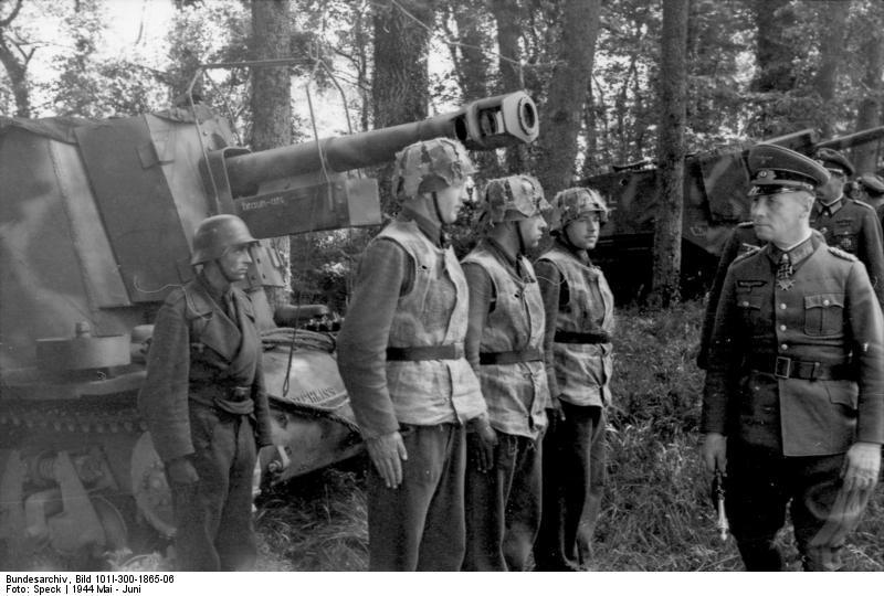 Frankreich, Rommel bei 21. Pz.Div.