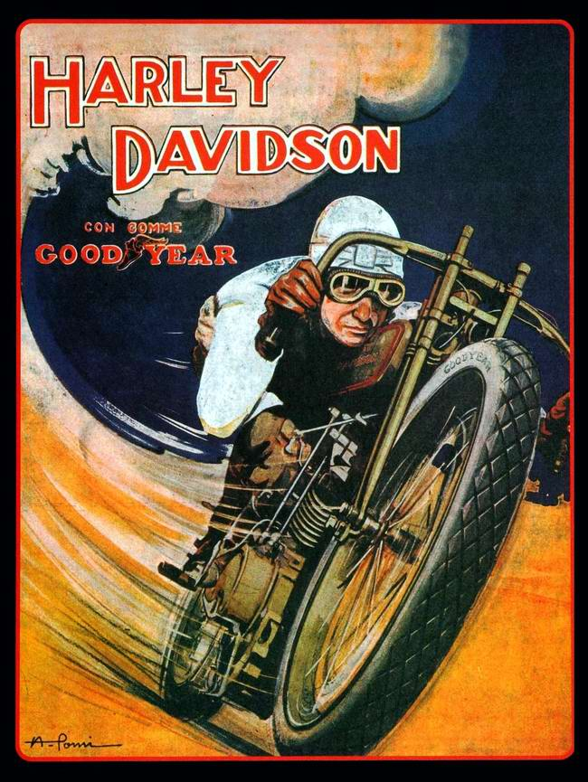 Harley-Davidson - США (1927 год) - 1