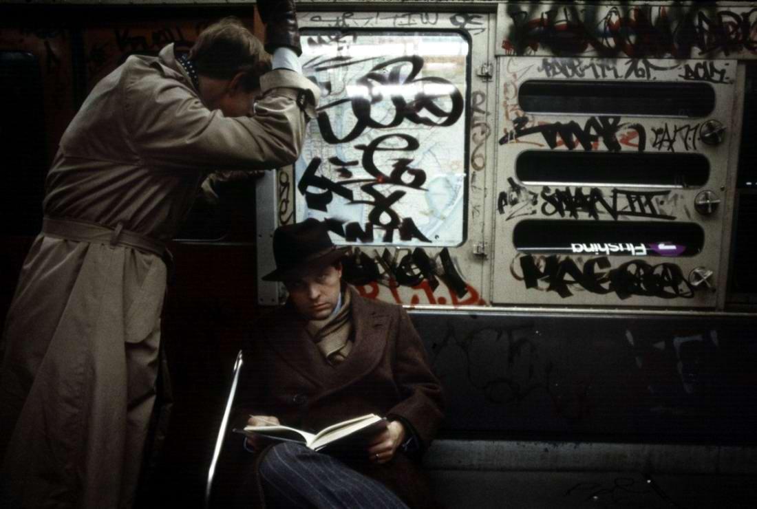 Американский фотограф Christopher Morris: Граффити и андеграунд нью-йоркского метро (36)