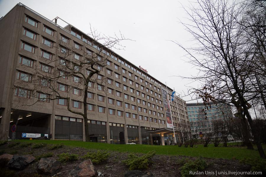Отель Scandic в Хельсинки