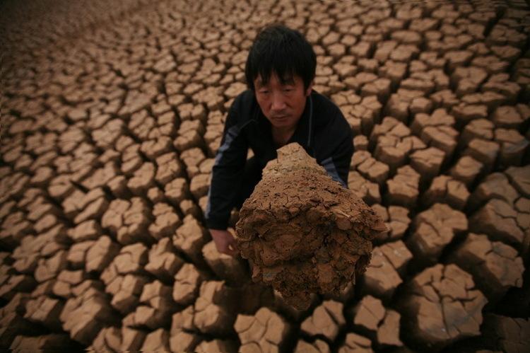 Засуха в Китае