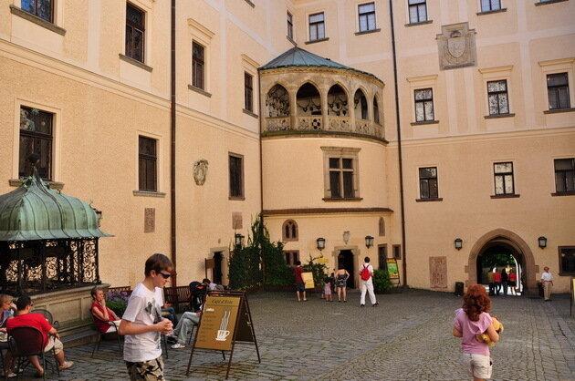 Замок Конопиште. Чехия