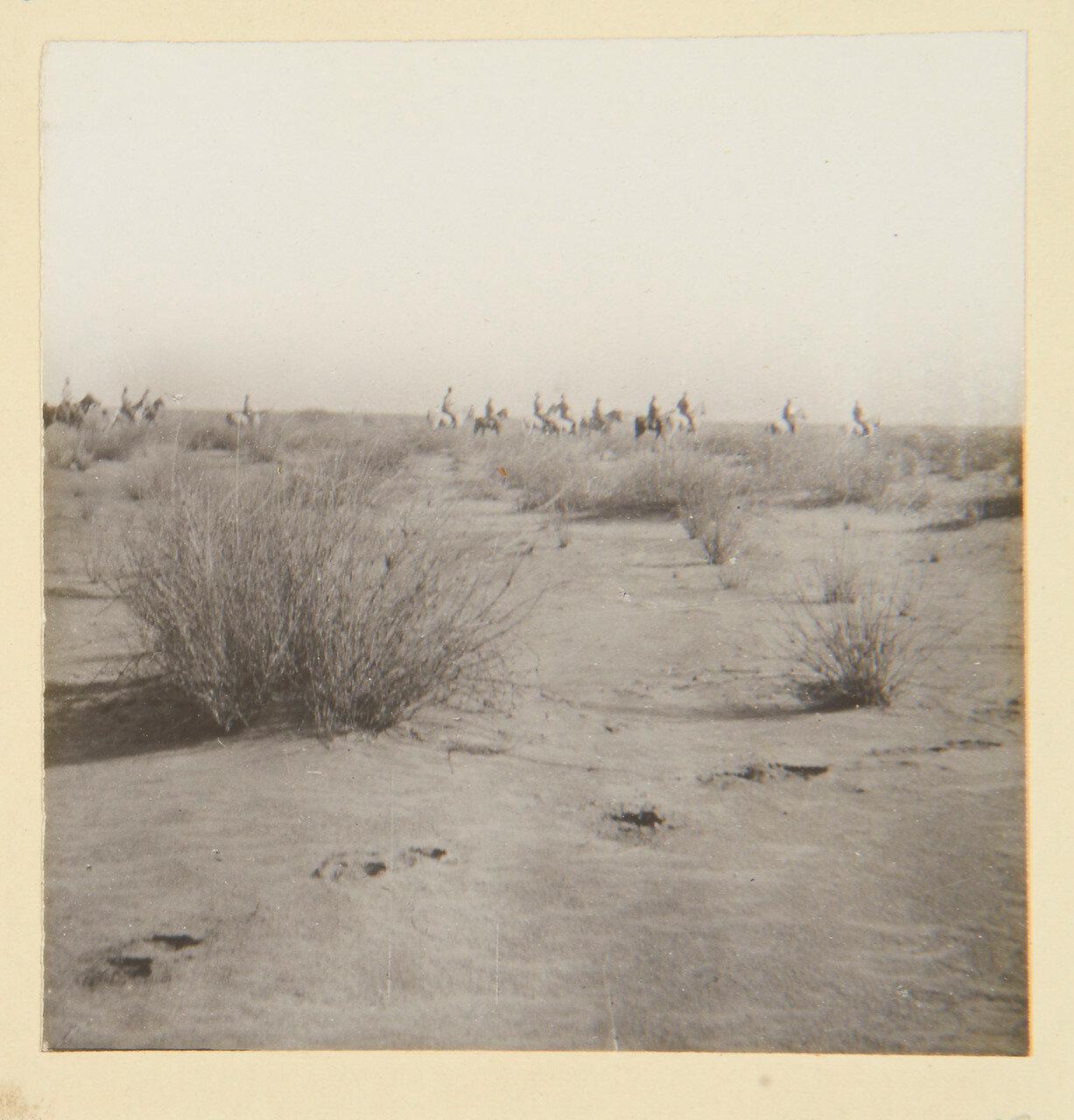 25 августа 1898. Лагерь в Вад Хамиде. Сирдар (главнокомандующий англо-египетской армией лорд Китченер) и его штаб