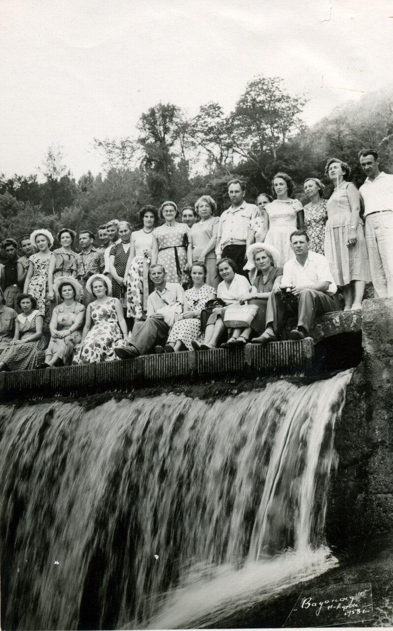 1958. Новый Афон