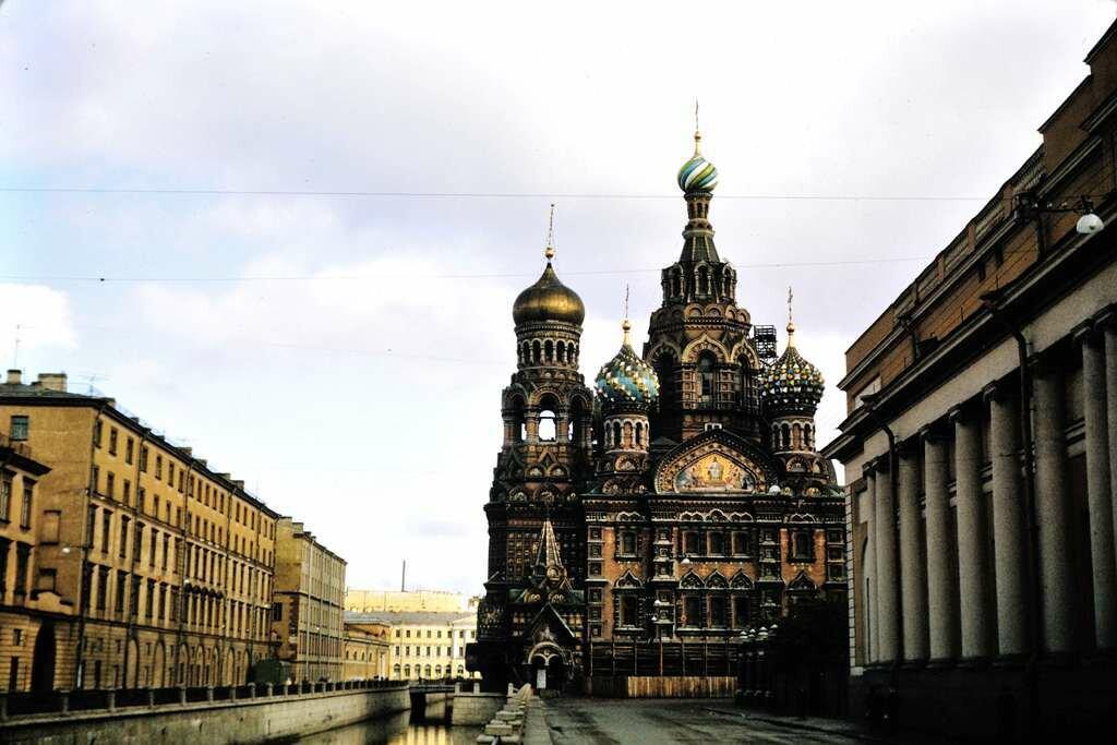 Mosaic Church, Leningrad.  9/27/68