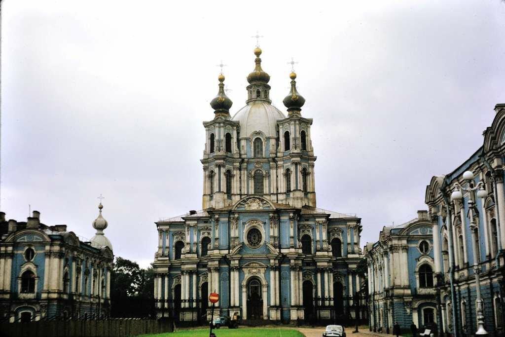 Smalna Nunnery, Leningrad.  9/26/68