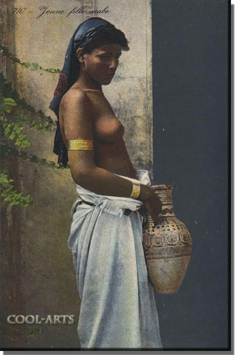 1900. Молодая арабка