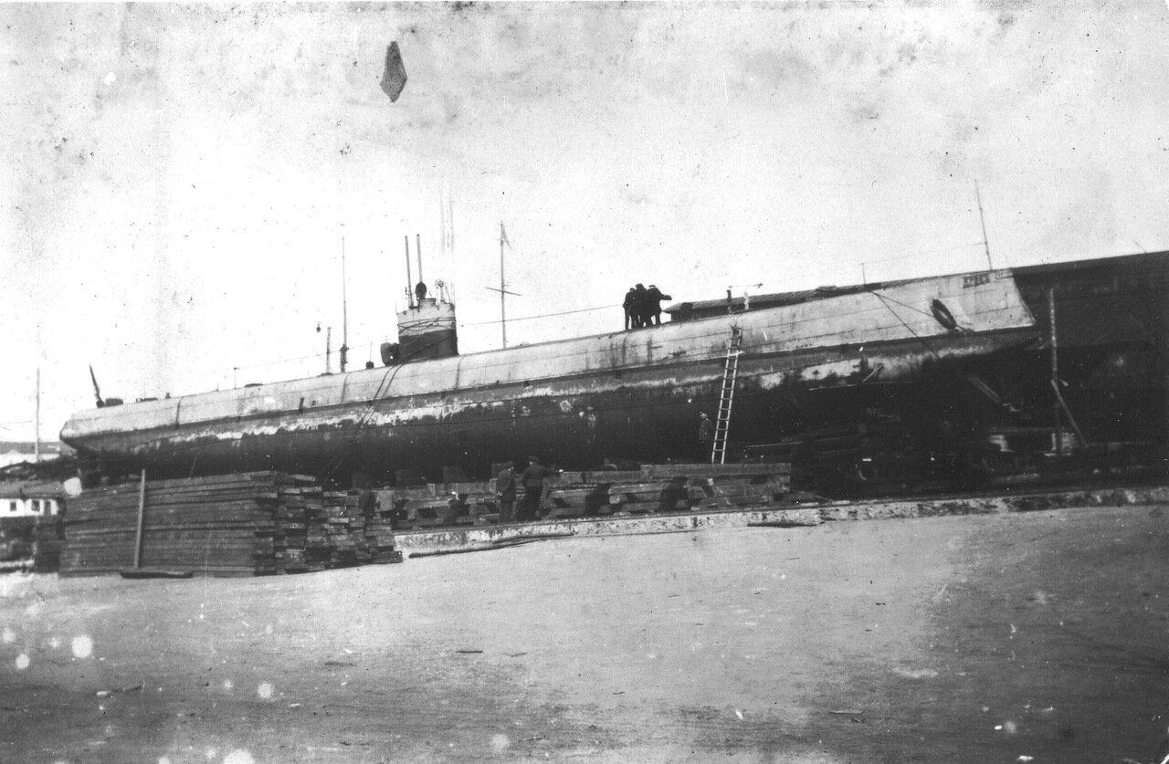 07. Подводная лодка Краб