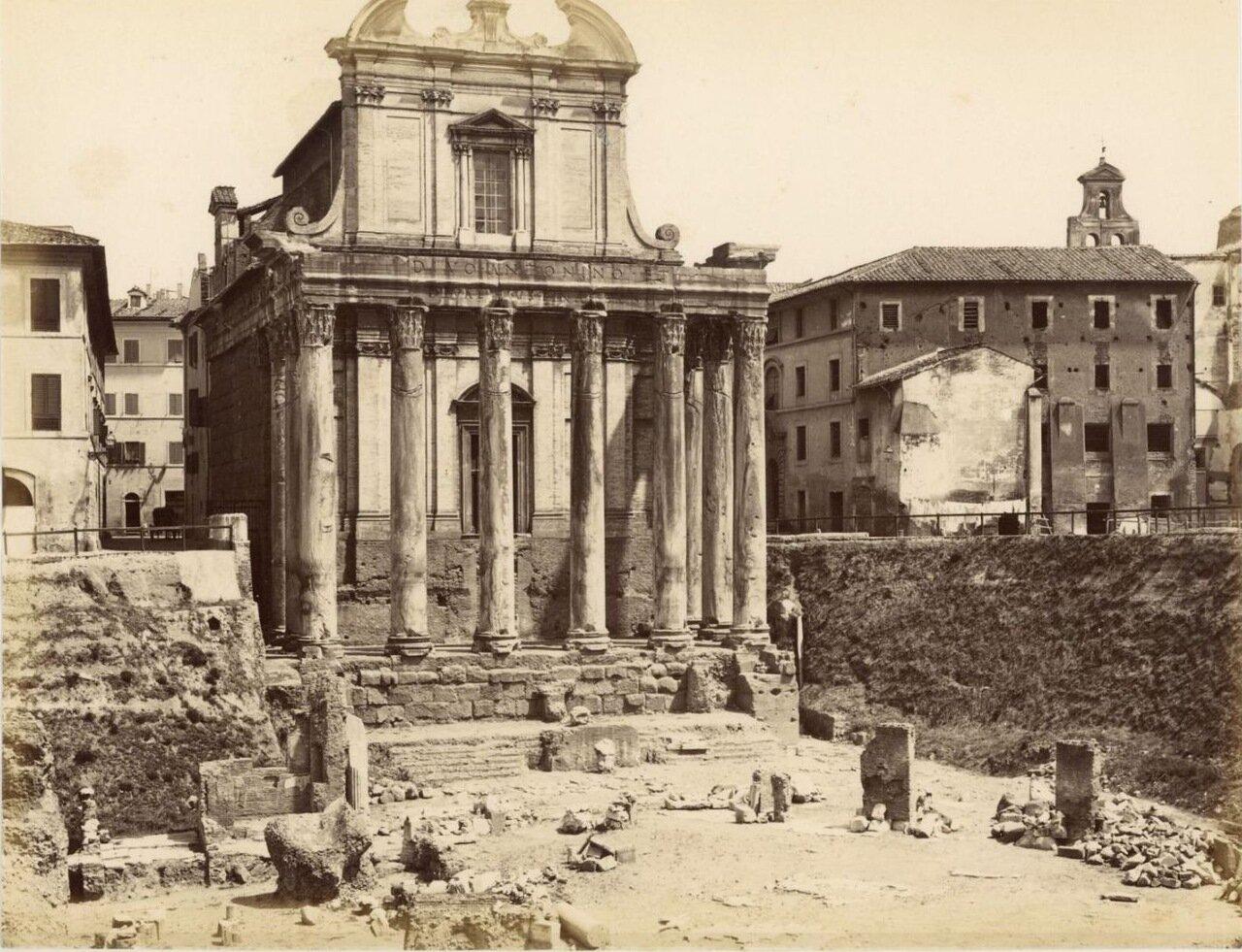 Римский храм. 1870