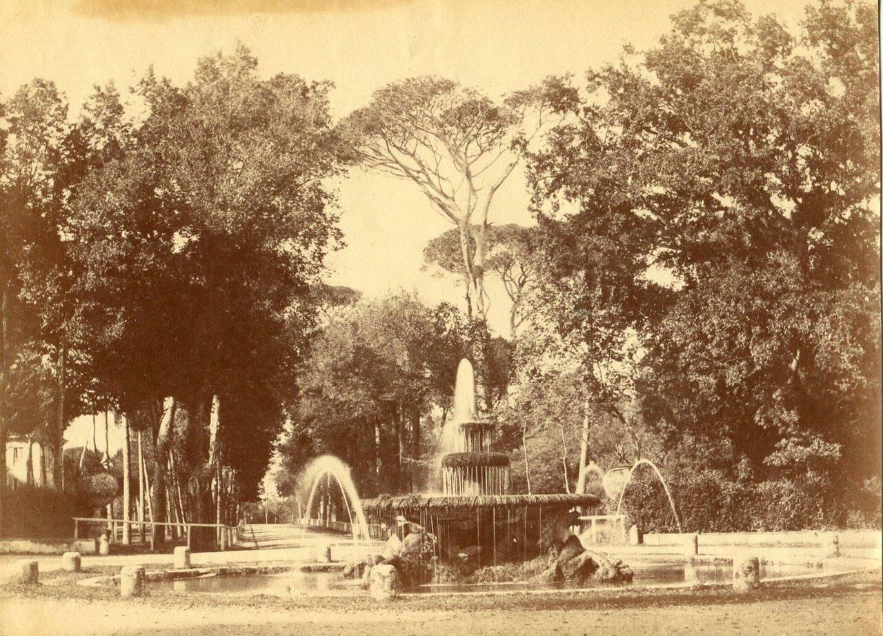 Сады Виллы Боргезе. 1855