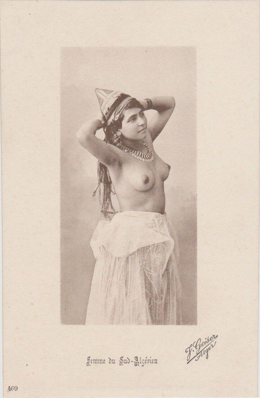 Женщина из Южного Алжира