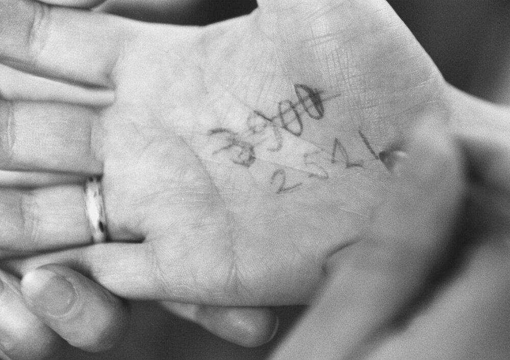 1991. Номерок на руке. Детский мир