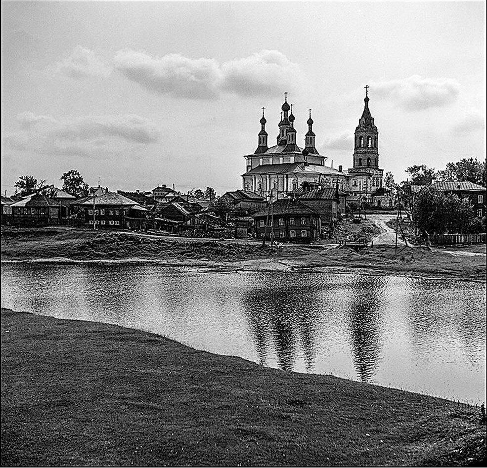 Река Кострома в Солигаличе