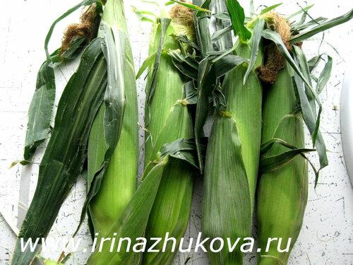 Как варить молодую кукурузу