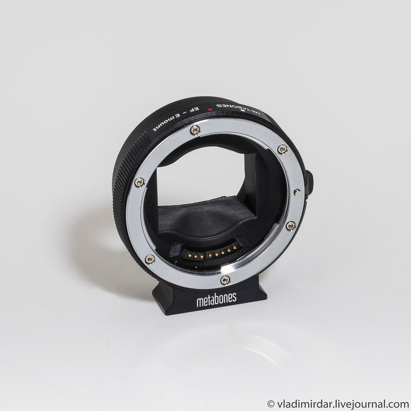 Переходник-адаптер Metabones Canon EF to E-mount/NEX Smart adapter - Mark III