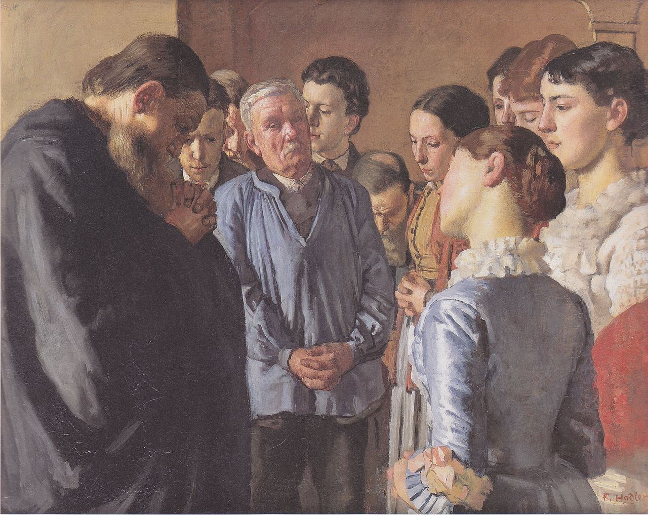 Богослужение, 1882 Ходлер, Фердинанд (1853-1918);