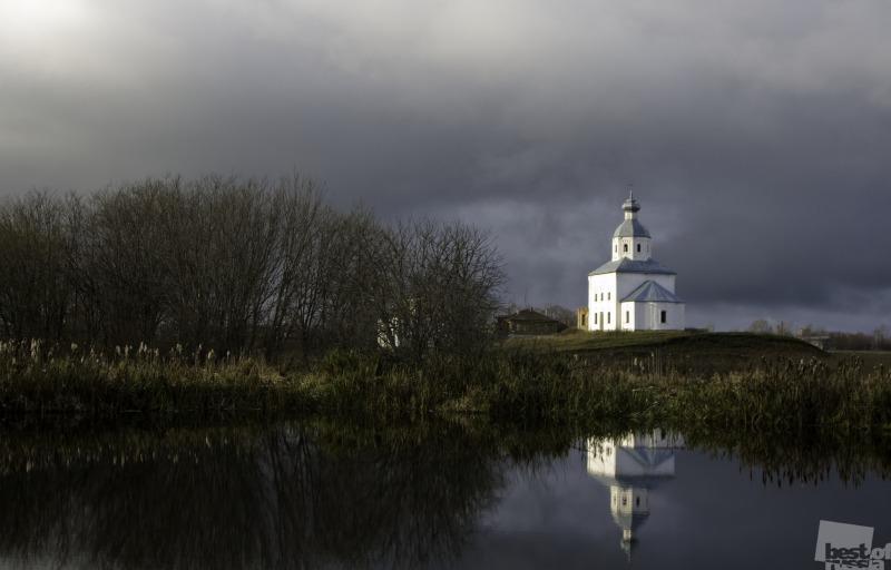 Суздаль, церковь Ильи Пророка. Автор Александр Бабаев.jpg