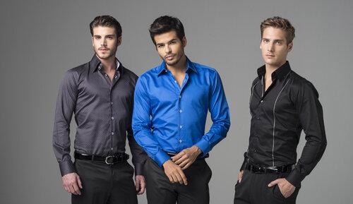 Мужские рубашки привычно и удобно