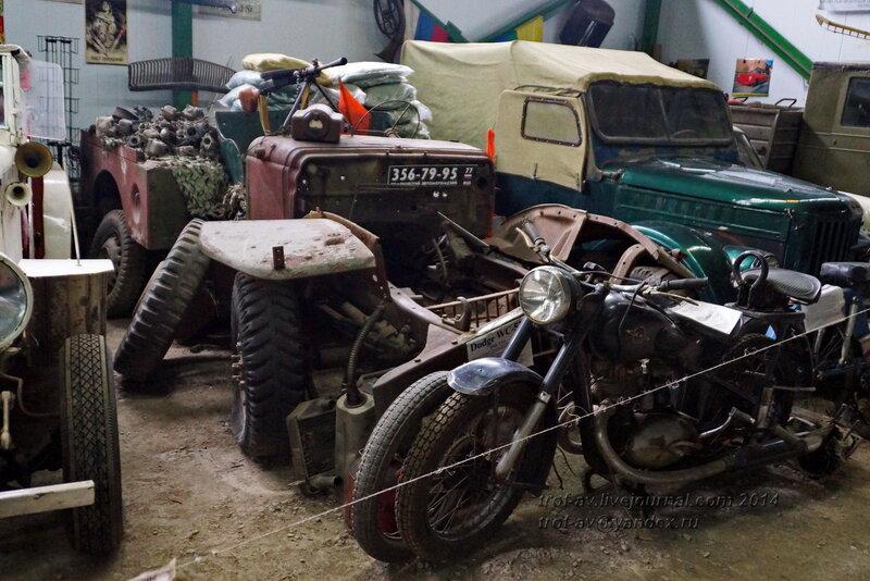 Dodge WC-51. Ломаковский музей старинных автомобилей и мотоциклов, Москва