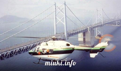Японские вертолеты ВК117