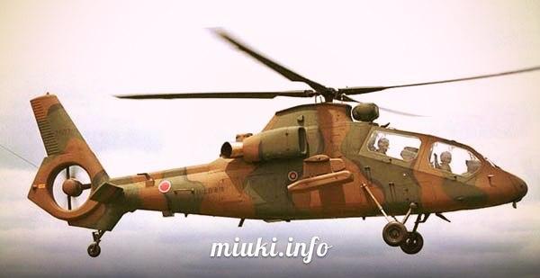 Вертолеты Японии многоцелевой Kawasaki OH-1 Ninja