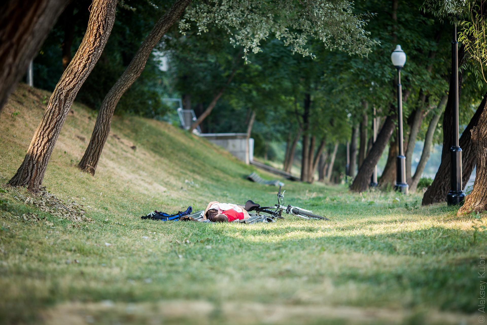 Нескучный сад. Москва. Лето 2014