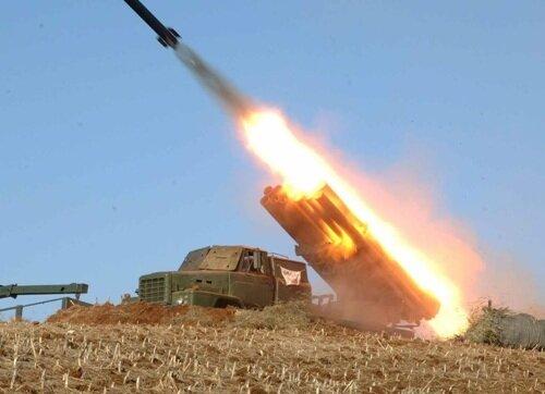 ракетные стрельбы в КНДР